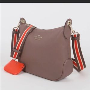 Kate Spade Rosie Crossbody + Coin Purse (TAUPE)